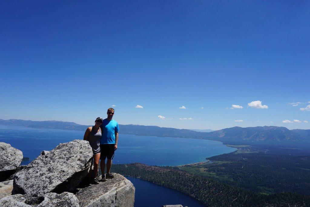 Maggie's Peak hike at Lake Tahoe
