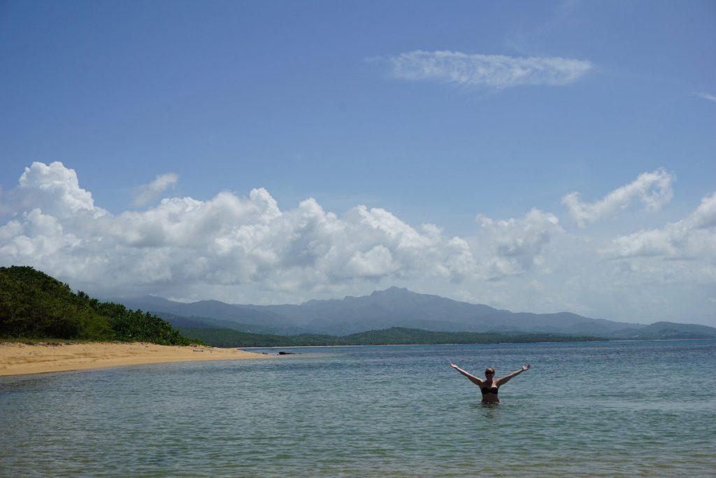 Playa Escondida near Fajardo, Puerto Rico