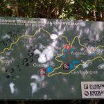 Ojos Indigenas Ecological Park and Reserve Map