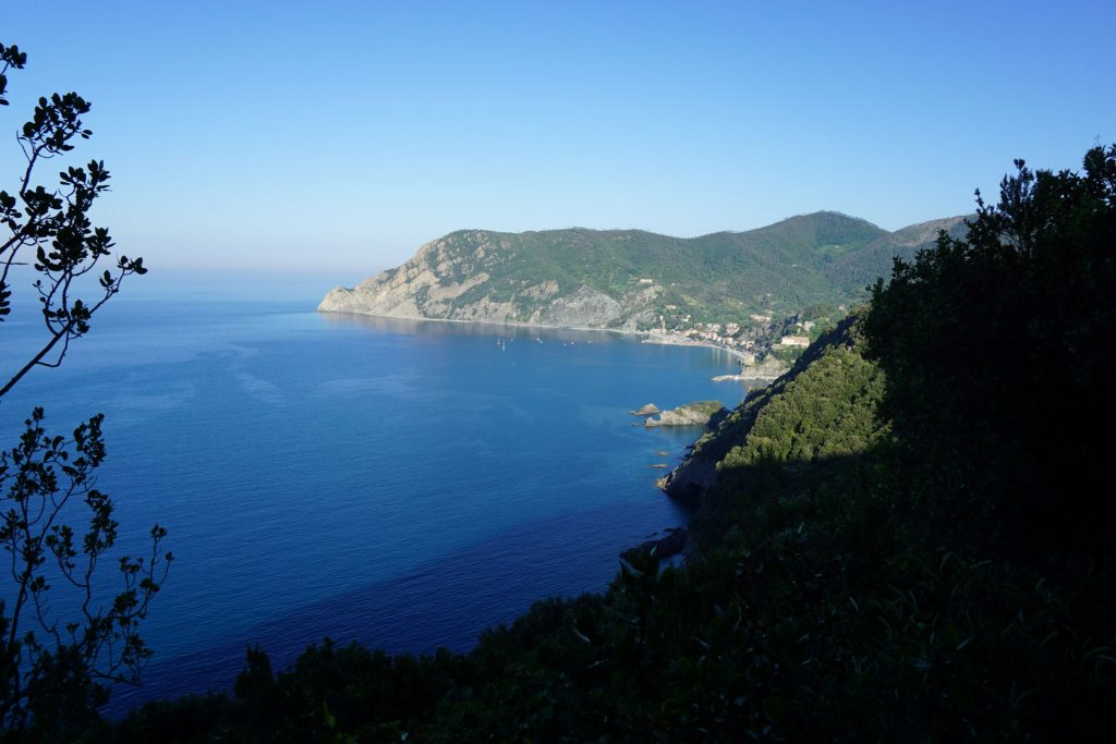 View of Monterosso from Cinque Terre Coastal Trail