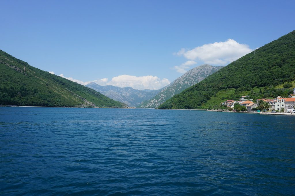 Entrance way into the Bay of Kotor