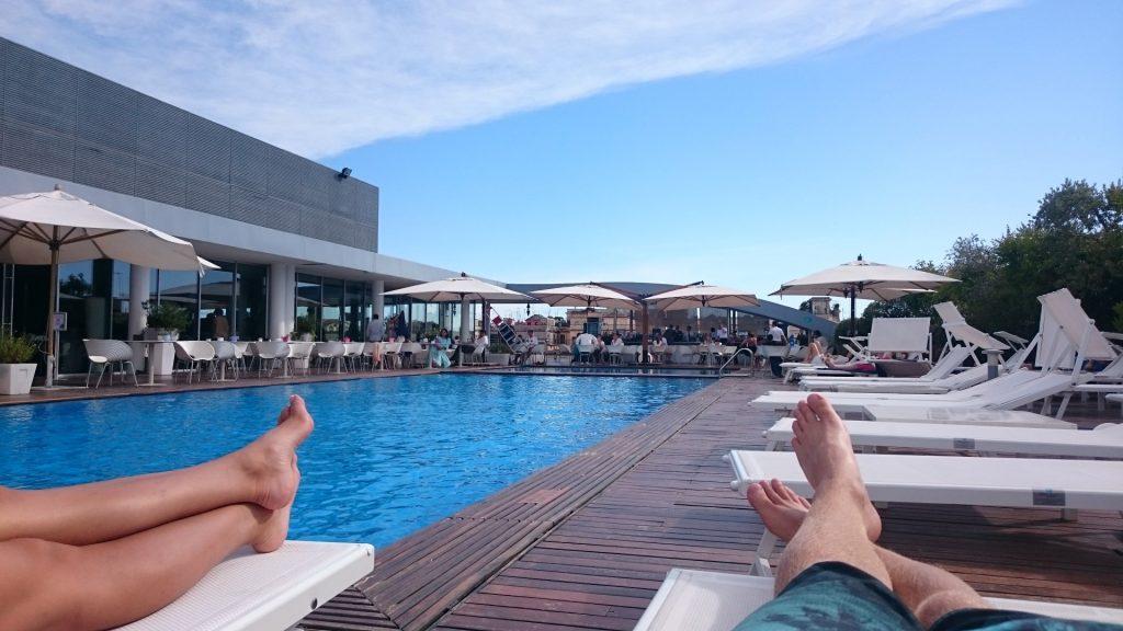 Radisson Blu Rome Rooftop Pool