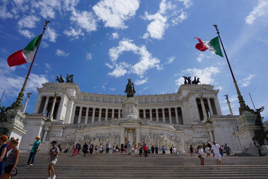 Altare della Patria in Rome near the Colosseum