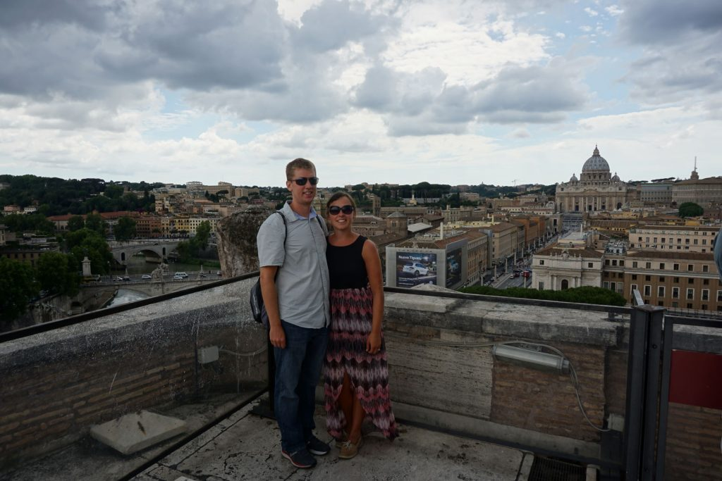 Castel St Angelo in Rome