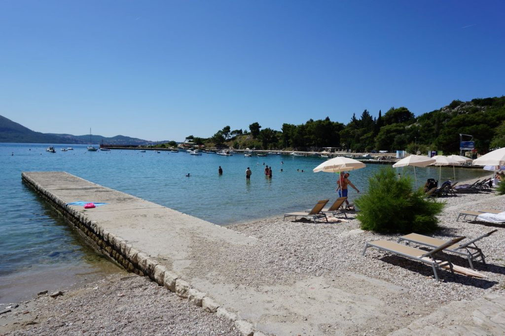 Sheraton Dubrovnik beach view