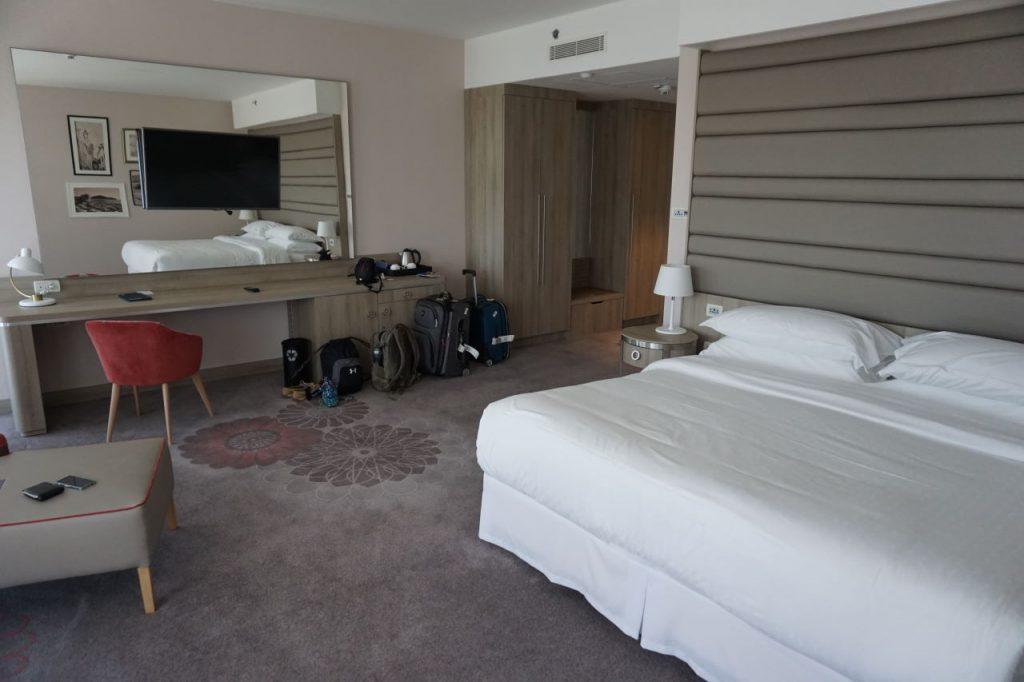 Sheraton Dubrovnik executive king room upgrade