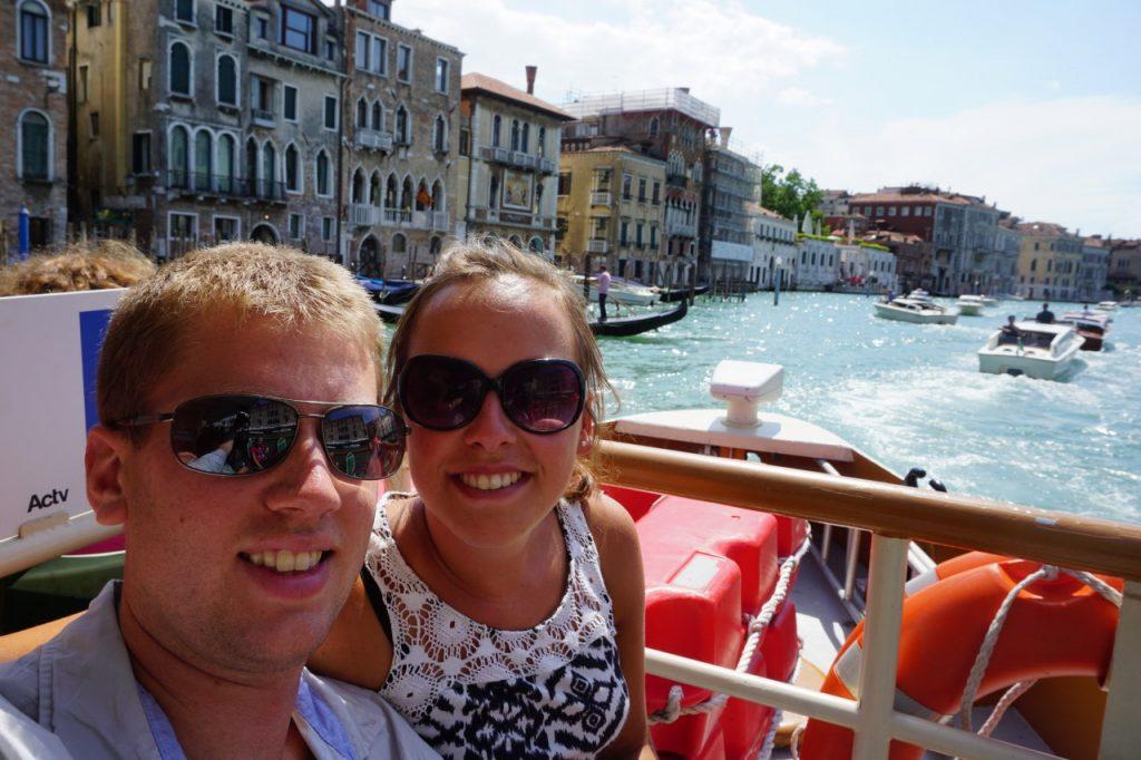 Venice water bus