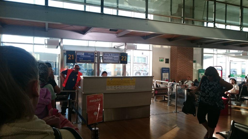 Volotea boarding in Venice