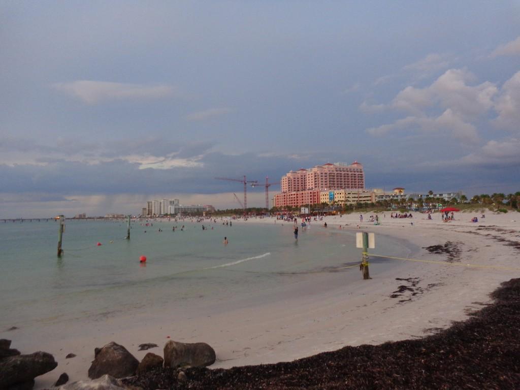 Clearwater Beach, Florida on Memorial Weekend