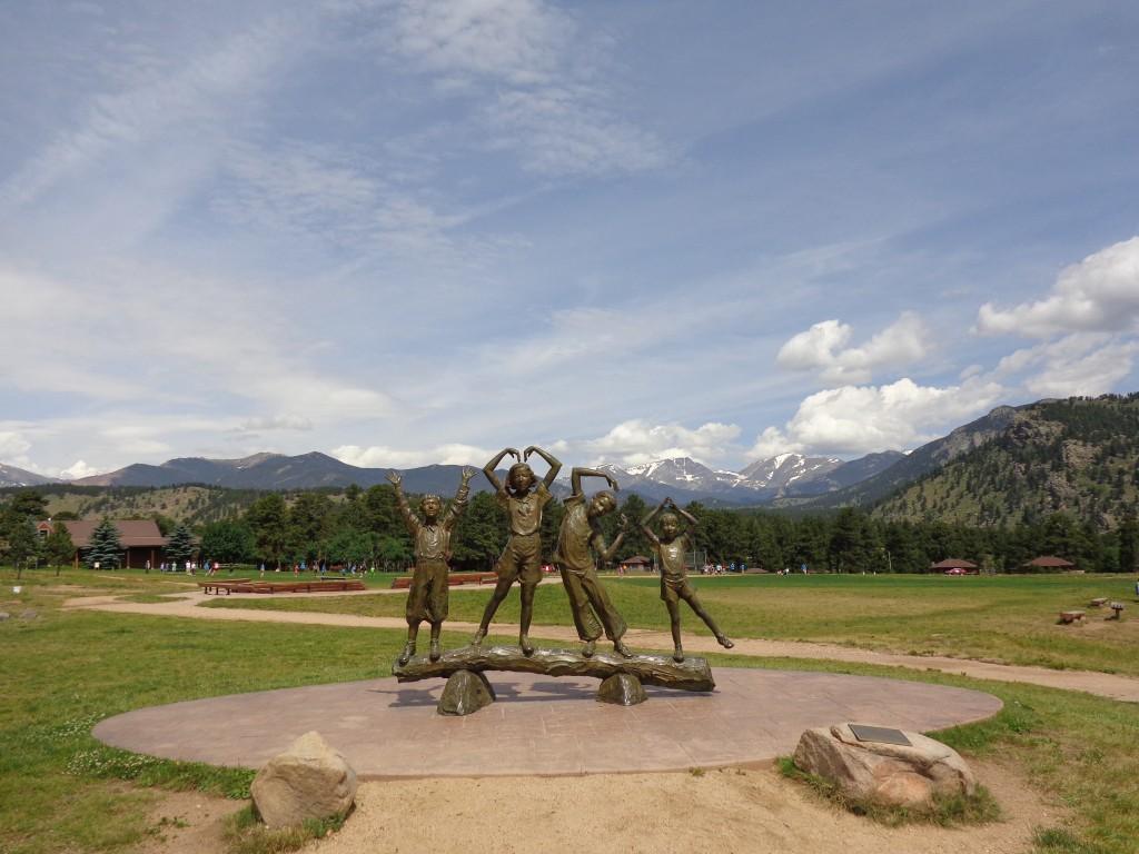 Check-in YMCA of the Rockies, Estes Park