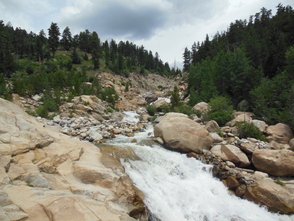 Alluvial Fan off of Old Fall River Road