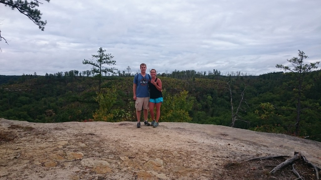 Red River Gorge hike for Engagement