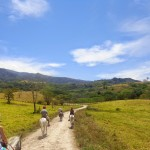 Costa Rica Horseback Riding View