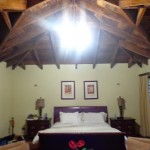 King bed inside the room