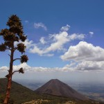 View of the Izalco Volcano the Lighthouse of the Pacific