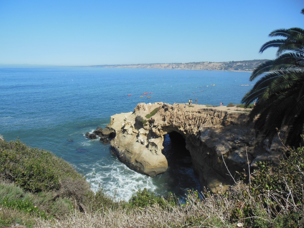 Near San Diego, La Jolla view of The Cave