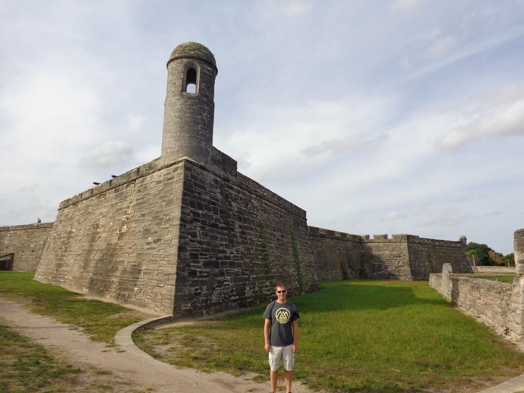 Historic Castillo De San Marcus in St Augustine
