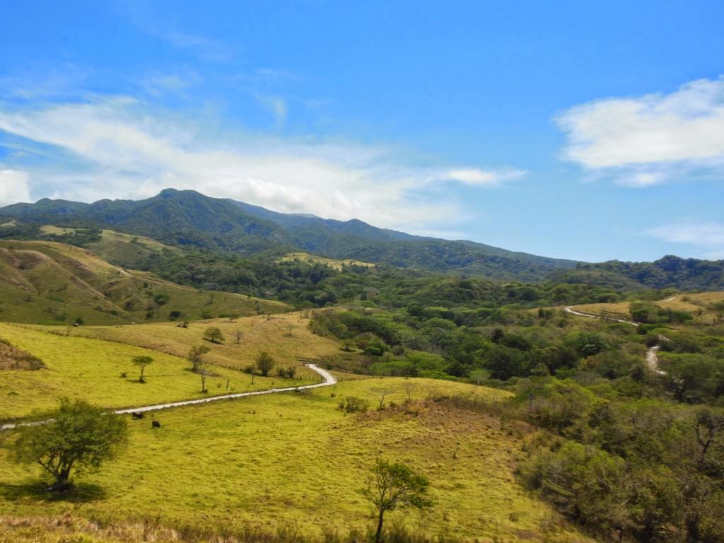 View of Volcan Rincon de la Vieja National Park