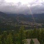 View of the entire YMCA of the Rockies, Estes Park