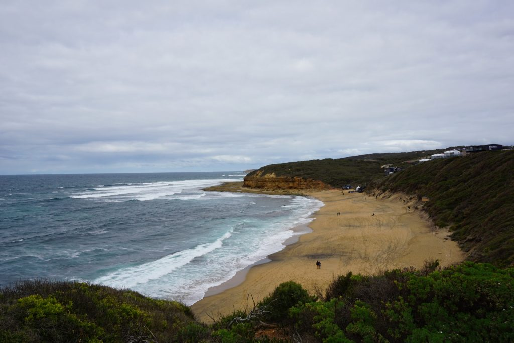 Stop at Bell's Beach on the way to Great Ocean Road