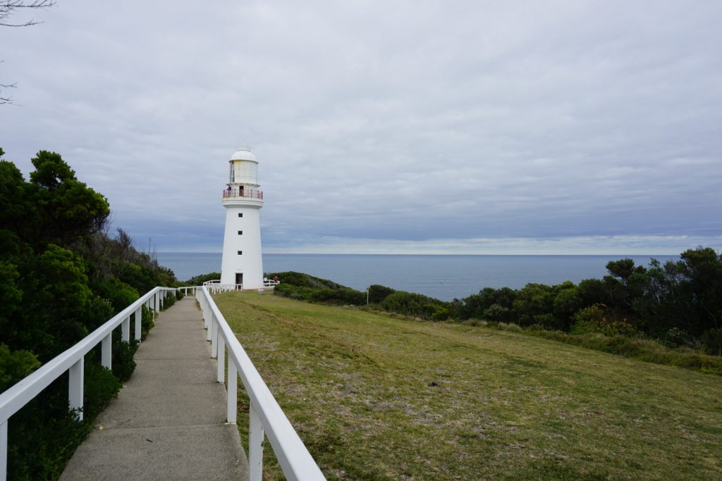 View of Cape Otway Lighthouse