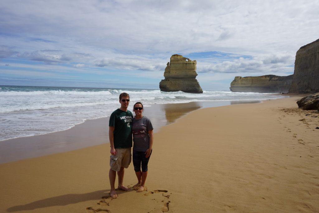 View of Twelve Apostles after going down the Gibson Steps