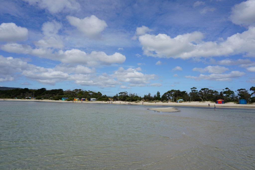 Beach in Port Phillip near Arthur's Seat