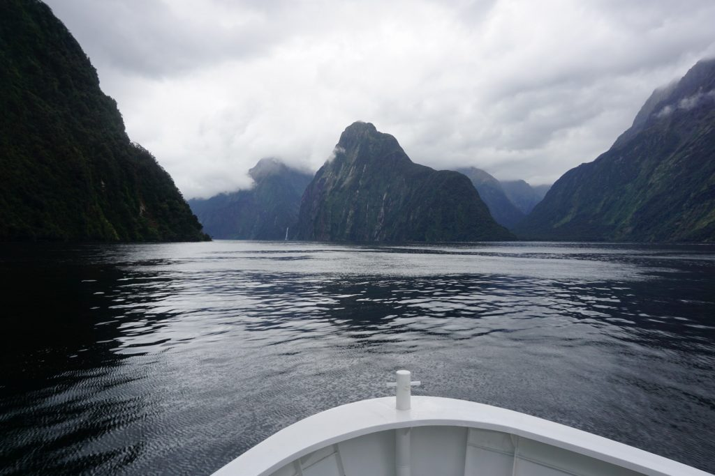 Milford Sound cruise view
