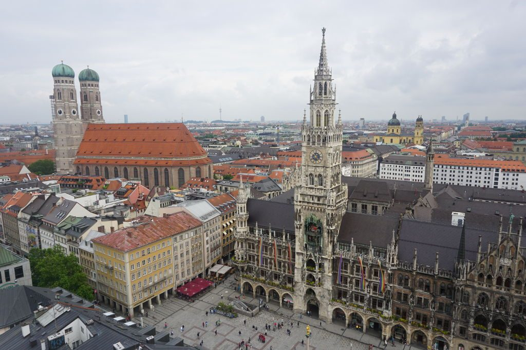 View of Munich, Germany.