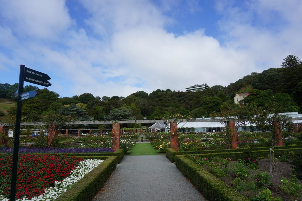 Wellington Botanic Garden Greenhouse