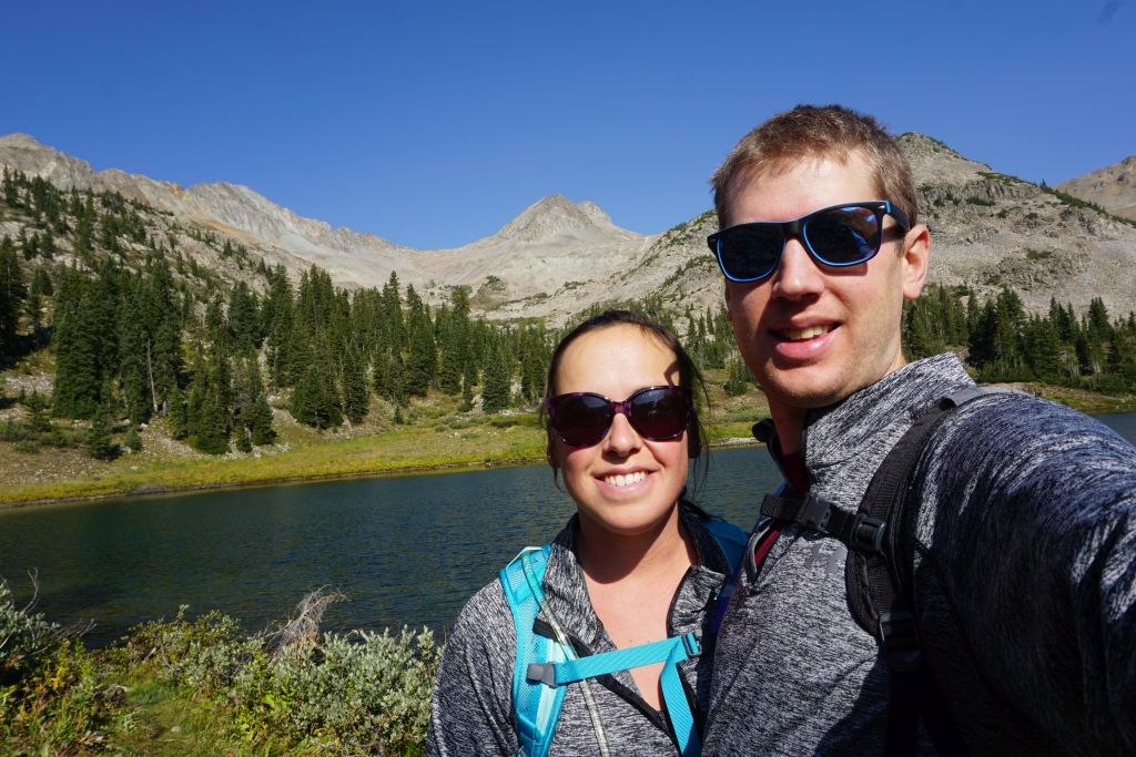 At Copper Lake near Crested Butte