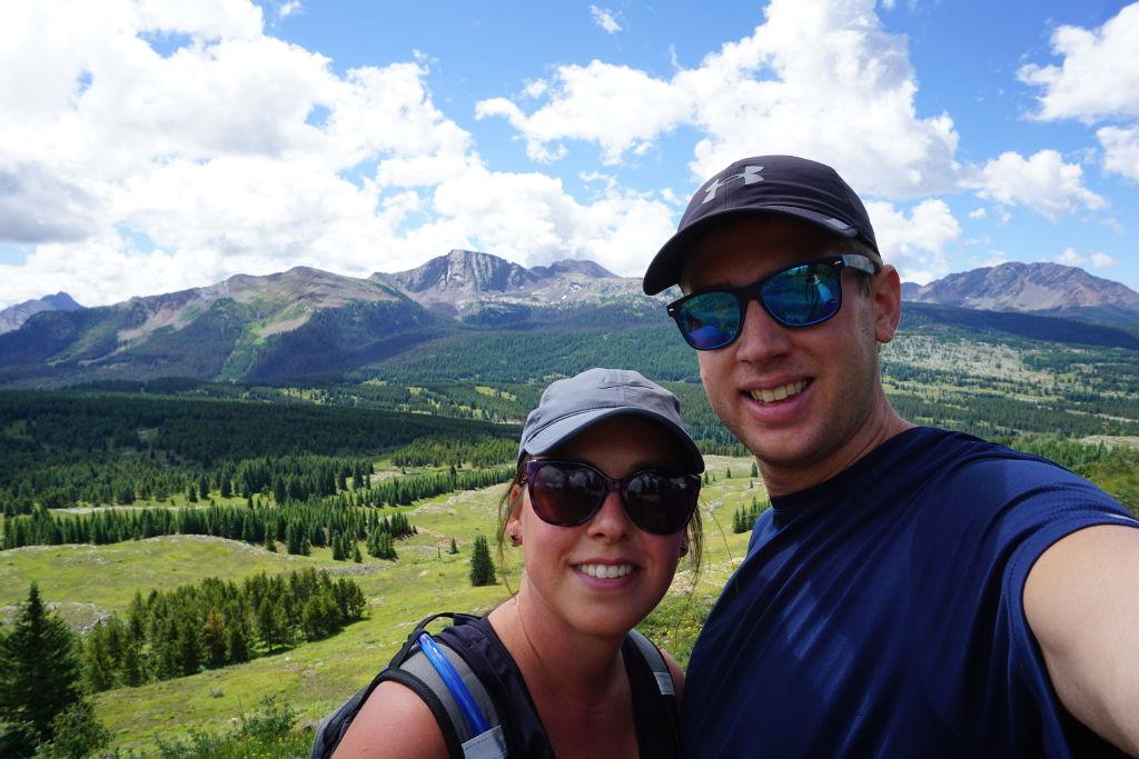 Hiking near Molas Pass by Silverton, Colorado.